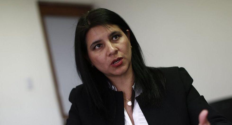 La procurador Silvana Carrión asumirá la Procuraduría Ad Hoc para el Caso Lava Jato, tras separación de Jorge Ramírez. (Foto: GEC)
