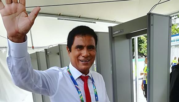 El narrador 'Toño' Vargas se recupera tras dar positivo a COVID-19. (Foto: @esteves_jorge).