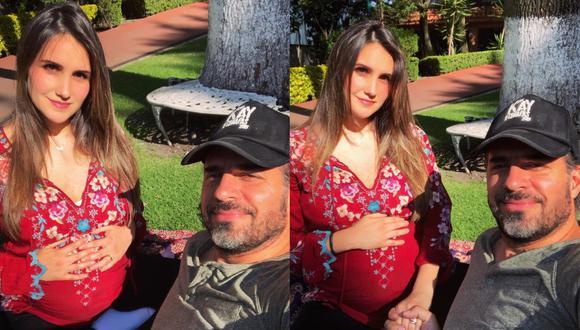 Dulce María confirmó el nacimiento de su primera hija. (Foto: @dulcemaria)