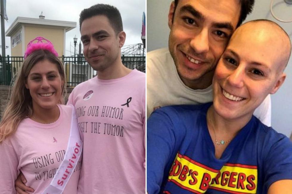 Cuando le diagnosticaron cáncer de mama, esta joven le ofreció a su pareja la oportunidad de terminar su relación sin imaginar que dos años después terminarían casándose. (Fotos: Jillian Hanson en Facebook)
