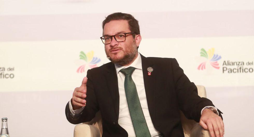 El ministro de Comercio Exterior y Turismo, Edgar Vásquez, comentó sobre la iniciativa conocida como 'tax-free'. (GEC)