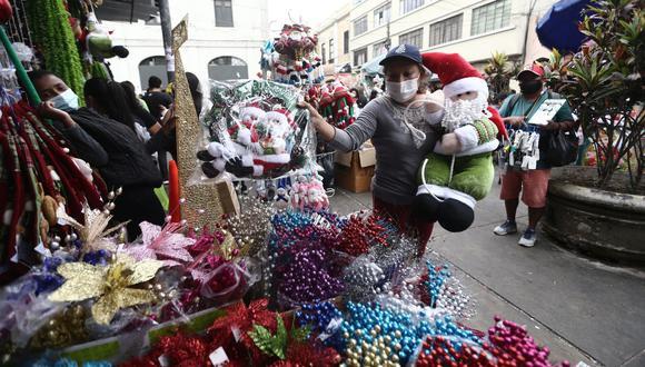 Solo en octubre, el país importó un 45.7% menos en productos navideños respecto al valor del mismo mes del año pasado. (Foto: Jesus Saucedo / GEC)