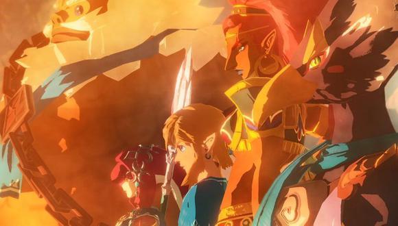 """Hyrule Warriors: Age of Calamity"" llegará muy pronto a Nintendo Switch. (Foto: Nintendo)"
