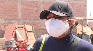 Ventanilla: Sujeto es detenido por agredir con una jeringa a comerciante