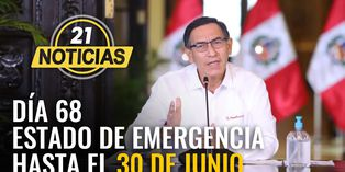 Mensaje a la nación del presidente Vizcarra en el día 68 de estado de emergencia
