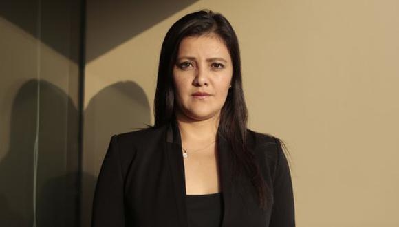 """Yamila Osorio: """"La prioridad es facilitar el gasto público"""". (Perú21)"""