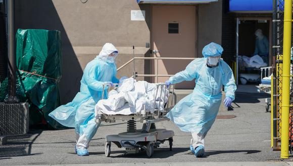 Se eleva la cifra de muertos por COVID-19 en nuestro país. (Foto referencial AFP)
