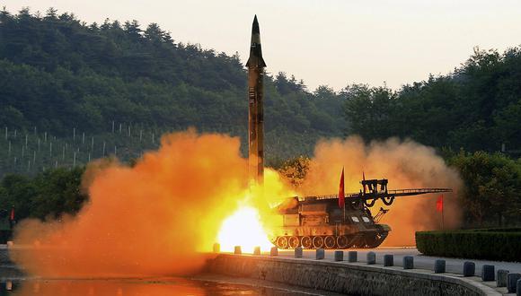 Corea del Norte realizó nuevo lanzamiento de misil. (Foto referencial: EFE/archivo)