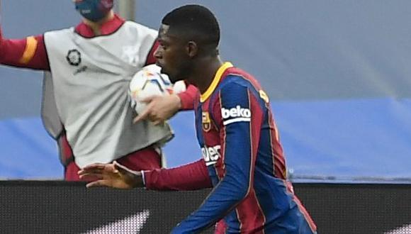 Ousmane Dembélé forma parte del Barcelona desde agosto del 2017. (Foto: AFP)