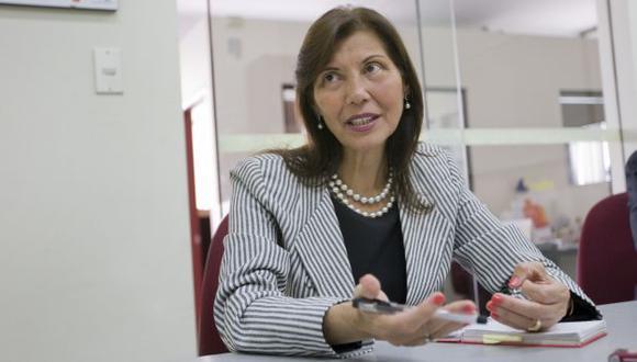 SE PONE FIRME. Actitud de Virginia Baffigo fue respaldada en el oficialismo y en la oposición. (USI)