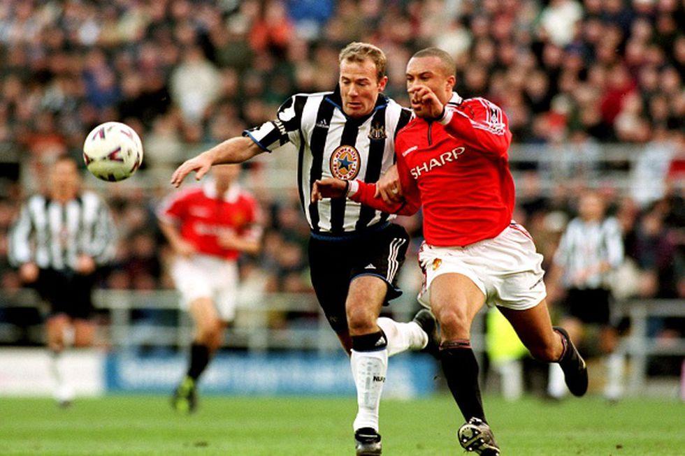 Alan Shearer estuvo 10 años (1996-2006) en el club donde es ídolo: Newcastle United. (Getty Images)