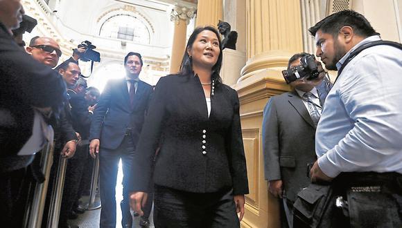 Ministerio Público: Hoy vence plazo de pedido en caso Keiko Fujimori. (USI)