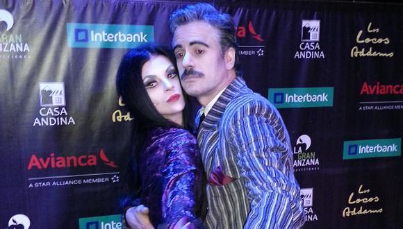 En la piel de Los locos Addams. (Javier Artica)
