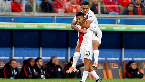Edison Flores anotó un gol en la semifinal. (Foto: EFE)