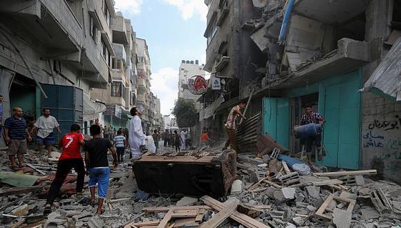 Unos 59 palestinos muertos deja ofensiva terrestre israelí en Gaza. (AP)