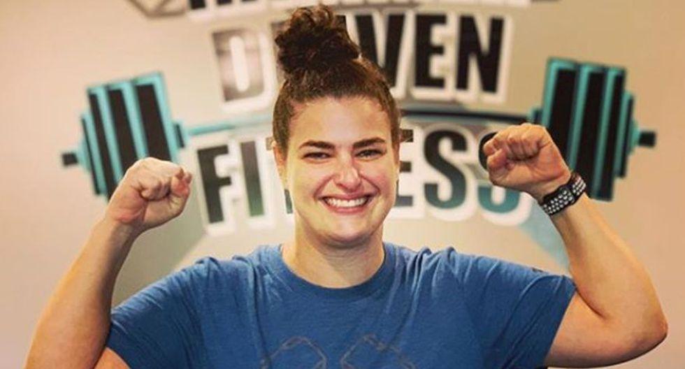 Stephanie Hammerman logró vencer todos los obstáculos que se le presentó en la vida. (Foto: Instagram stephthehammer)
