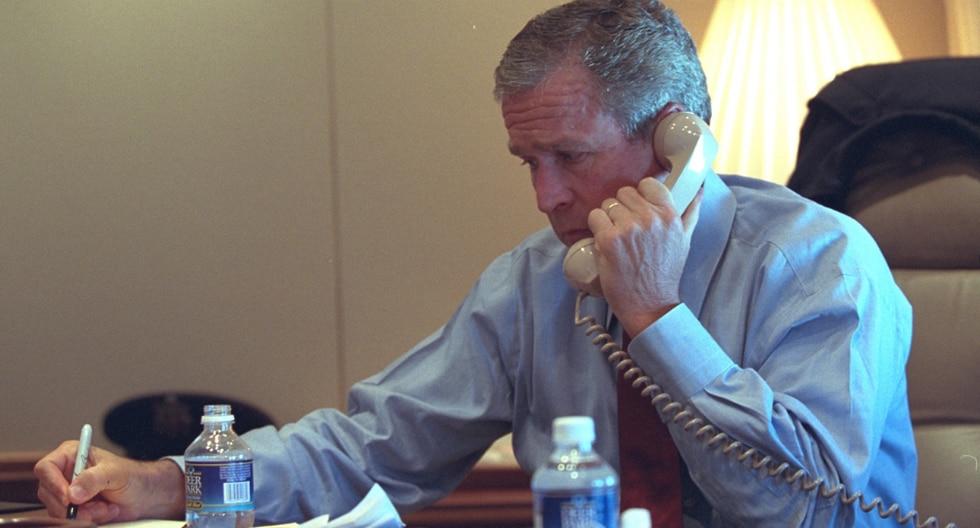 Muchos se preguntaban donde estaba el presidente George W. Bush tras los ataques del 11-S y la respuesta era a miles de pies de altura por su seguridad. (Foto: The U.S. National Archives en Flickr)