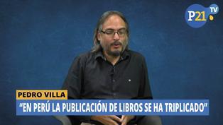 Pedro Villa: La publicación de libros se ha triplicado en Perú