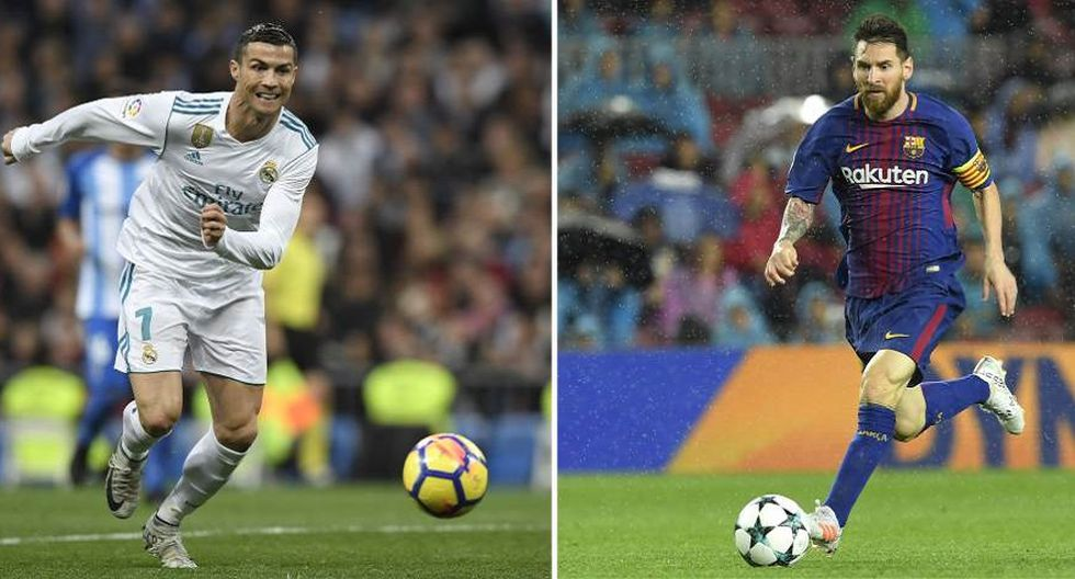 Ernesto Valverde se refiere a la rivalidad entre Cristiano Ronaldo y Lionel Messi (Foto: AFP).