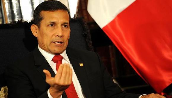 Ollanta Humala es criticado por sus declaraciones sobre inseguridad ciudadana. (USI)