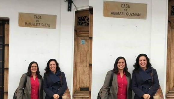Marisa Glave denunciará a los que trucaron su foto para vincularla con Abimael Guzmán. (Composición)