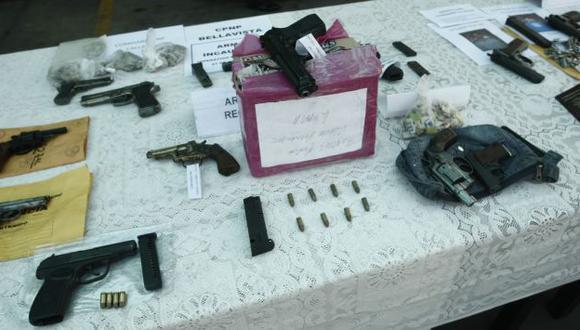 LA VIDA VALE POCO. Comprar un arma en el mercado negro puede costar desde 500 soles. (César Fajardo)