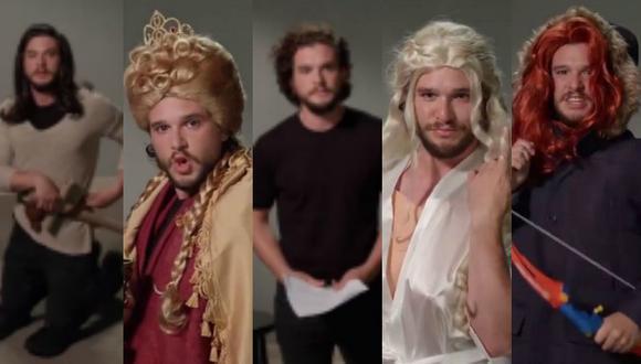 'Game of Thrones': Esta es la divertida audición nunca antes vista de 'Jon Snow' (Composición/Youtube)