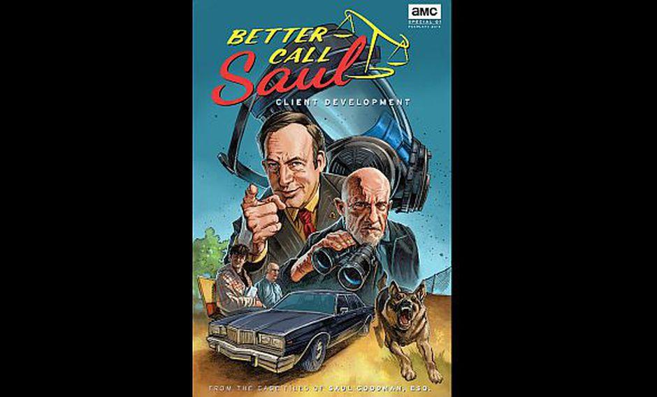 Se publicó cómic de precuela de Breaking Bad. (AMC)
