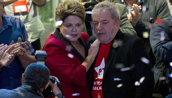 Brasil: Proclaman la candidata de Dilma Rousseff con apoyo de Lula da Silva. (AFP)