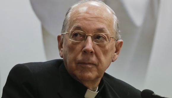 El cardenal Juan Luis Cipriani