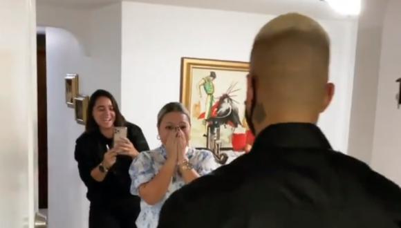 Maluma se reencontró con su madre. (Foto: @maluma)