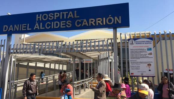 Hospital Daniel Alcides Carrión de Huancayo.(Minsa)