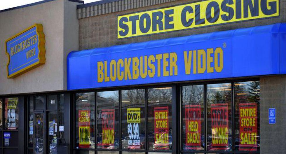 Blockbuster terminó siendo vendida por US$320 millones tras ir a la bancarrota en 2011. (AP)