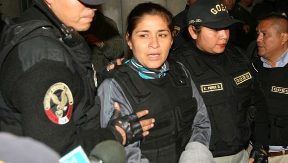 Nancy Obregón escribió carta desde penal Santa Mónica. (USI)