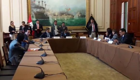 Subcomisión de Acusaciones Constitucionales no sesionó por inasistencia de congresistas