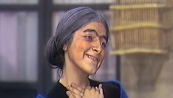 """Doña Eduviges participó sólo en dos episodios de """"El Chavo del 8"""" (Foto: Televisa)"""