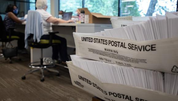 El Servicio Postal de Estados Unidos ha justificado las demoras en el reparto a la falta de personal por la pandemia. (Logan Cyrus / AFP)