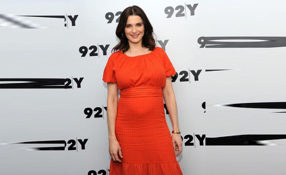 Rachel Weisz está embarazada a sus 48 años. (Getty)