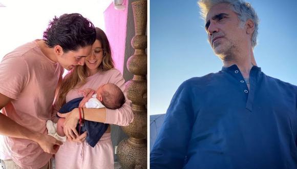 Alejandro Fernández señaló en su momento sentirse muy feliz por su nueva etapa en la vida como abuelo. (Foto: Instagram / @alexoficial @alexfernandez.g)