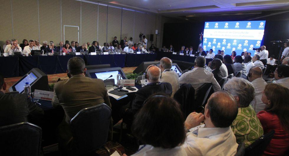 Caracas abrió en abril de 2017 el procedimiento para retirarse de la OEA. (Foto: EFE)
