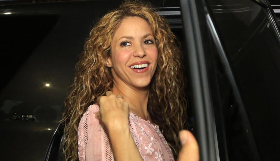 Shakira disfruta de sus vacaciones nadando entre delfines. (Foto: EFE)