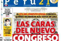 Las caras del nuevo Congreso