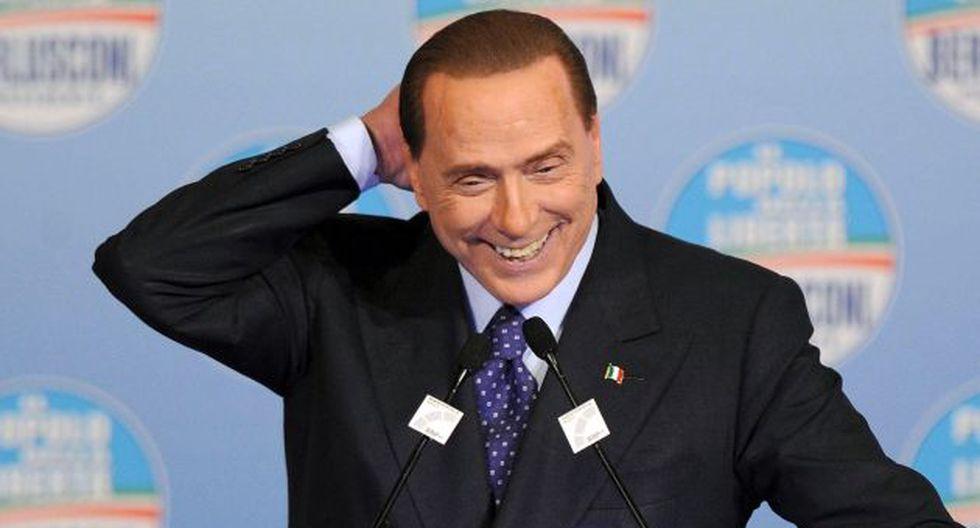 Silvio Berlusconi por fin recibe una buena noticia de la justicia. (EFE)