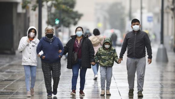 Lima registra las temperaturas más bajas durante el invierno. (Foto: César Bueno @photo.gec)