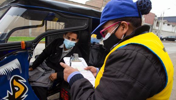Los conductores de mototaxis informarles fueron multados con S/660. (Foto: MML)