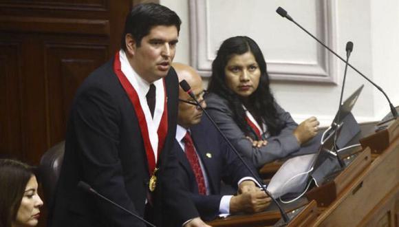 Luis Roel Alva, vicepresidente del Congreso, se pronunció ante pedidos para postergar elecciones por la segunda ola de COVID-19. (Foto: GEC)