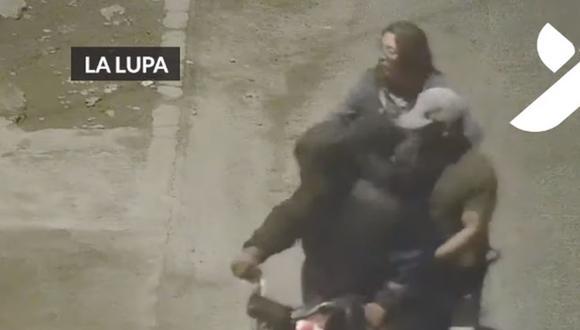 Los delincuentes fueron grabados por las cámaras de seguridad. (Foto: Captura/YouTube)