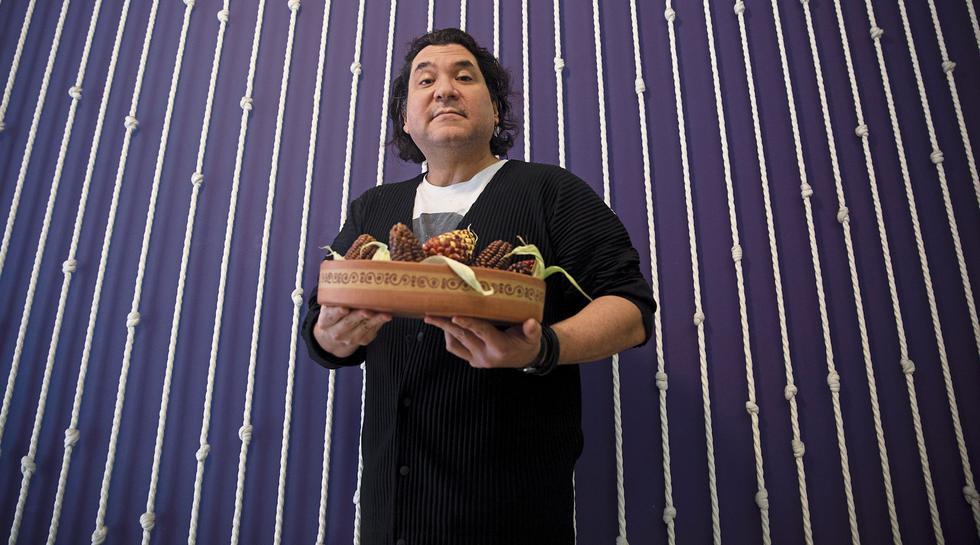 """EL RETO PAÍS. """"Ahora la cocina peruana es relevante internacionalmente"""", dice Gastón Acurio. (José Rojas)"""