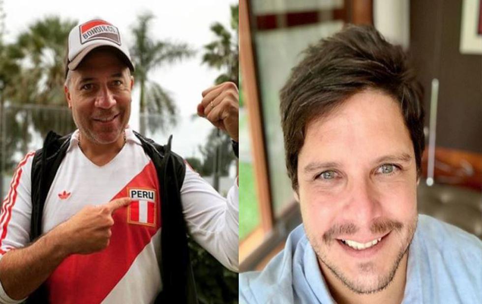 Mathías Brivio y Gian Piero Díaz apoyaron a la selección peruana pese a derrota con Brasil. (Composición)