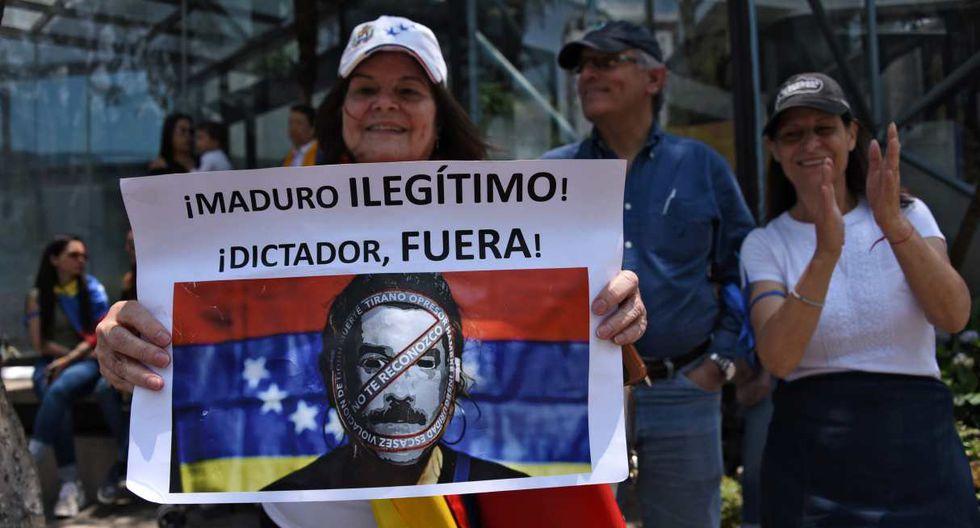 Guaidó llama a marchar hacia cuarteles para exigir que cese apoyo militar a Maduro. (Foto: AFP)